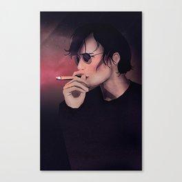 Smokey Man Canvas Print