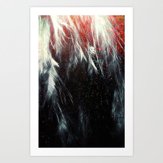 It's Just a Spark, But it's Enough Art Print