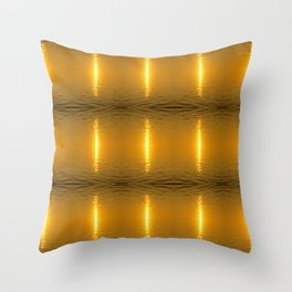 Swedish Ripples Throw Pillow