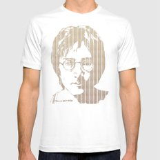 There is a MAGI in Imagine Mens Fitted Tee 2X-LARGE White