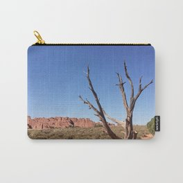 lone desert tree Carry-All Pouch