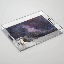 Northern Mountain Acrylic Tray