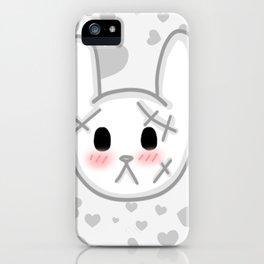 Halloween Kawaii Bunny iPhone Case