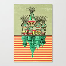 Pineapple architecture  Canvas Print