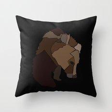 Heart Of Wool Throw Pillow