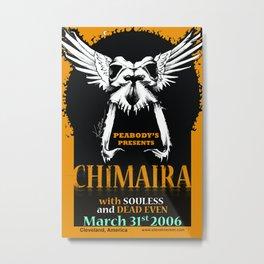 Chimaira Poster 2006 Metal Print