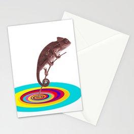 Psychedelic Chameleon Stationery Cards