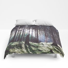 Magic forest - Landscape and Nature Photography Comforters