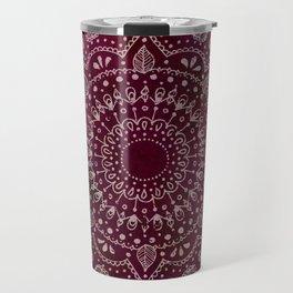 Wine Mandala Travel Mug