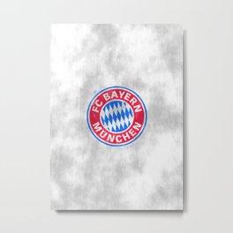 FC Bayern sketch Metal Print
