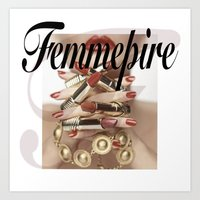 Femmepire Art Print
