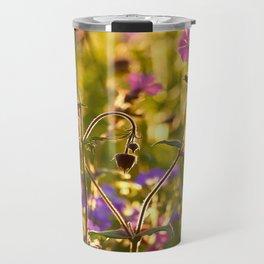 Summer Dream Wildflowers Meadow #decor #society6 Travel Mug