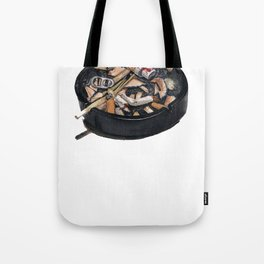 writer's ashtray Tote Bag