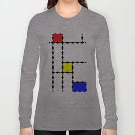 Mondrian and the Eight Point Flower Long Sleeve T-shirt