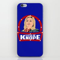 leslie knope iPhone & iPod Skins featuring Leslie Knope by SuperEdu