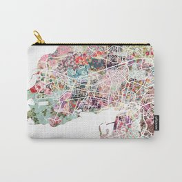 La Rochelle map Carry-All Pouch