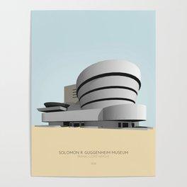 Gugggenheim Museum New York Poster