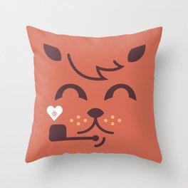 UNDO |ILU Pet Lover series [ brando ] Throw Pillow