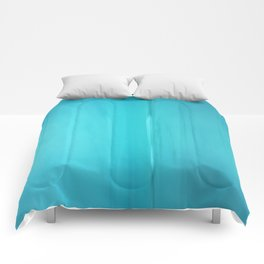 Abstract Turquoise Comforters