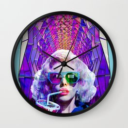 A hollywood treasure Wall Clock