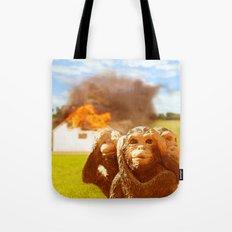 Monkeys Make Bad Pets. Tote Bag