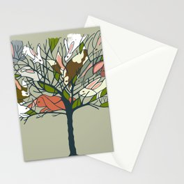 Bunnies in My Tree and more! Stationery Cards