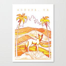 Cali Ghost Canvas Print