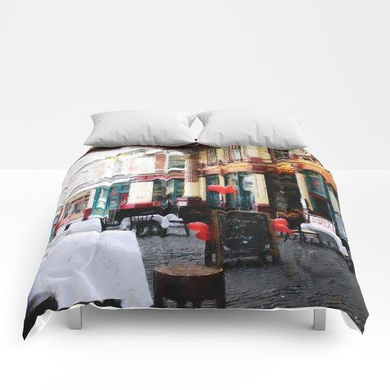 Leadenhall Market in London Comforters