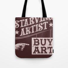 Feed an Artist Tote Bag