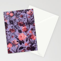 Romantic Floral Pattern Stationery Cards