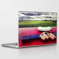 woodstock Laptop & iPad Skins featuring Woodstock by Leah Galant