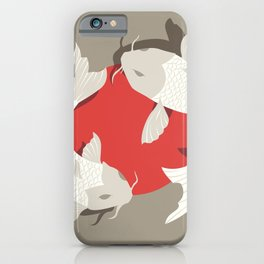 Koi fish 001 iPhone Case