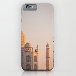 Taj Mahal At Sunset iPhone Case