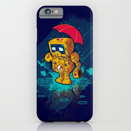 TINY ROBOT iPhone & iPod Case
