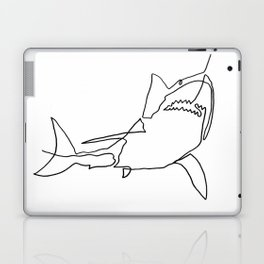 Great White Shark (white) Laptop & iPad Skin