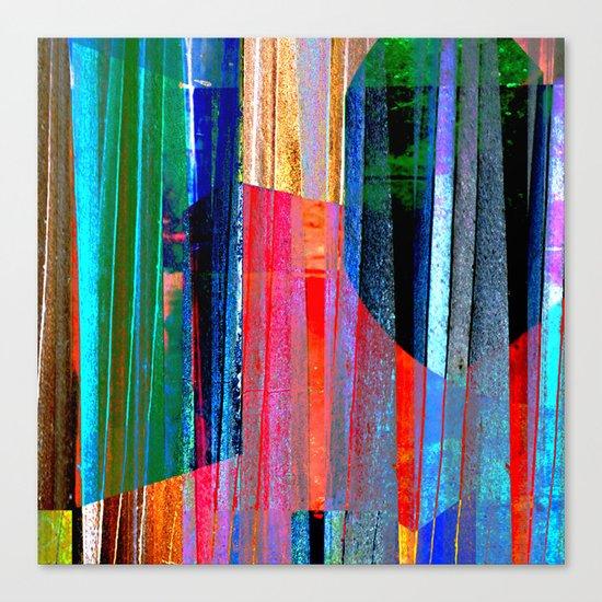 Iron Curtain Canvas Print