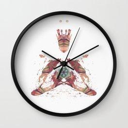 Inkdala X (Rorschach) Wall Clock