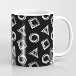 Metallic Shapes Coffee Mug