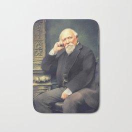 Robert Browning, Literary Legend Bath Mat