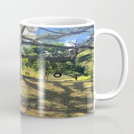 Tire Swing in a Tropical Place Coffee Mug