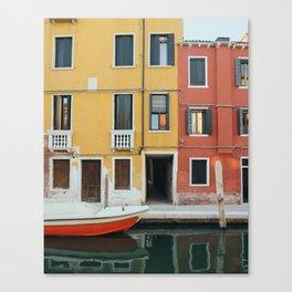 Venice Colours Canvas Print