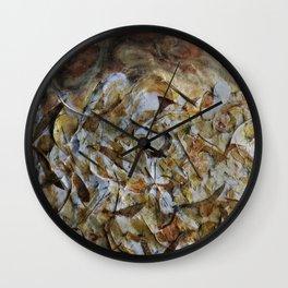 Under my feet Wall Clock