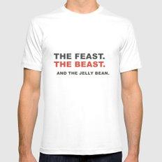 The beast Mens Fitted Tee White MEDIUM