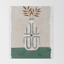 Emile Vase Throw Blanket