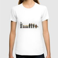 lotr T-shirts featuring 8-bit LOTR The Fellowship of The Ring by MrHellstorm