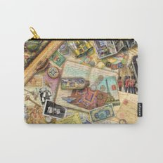 Vintage World Traveler Carry-All Pouch