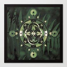 Mandala of Forests & Ferns Canvas Print
