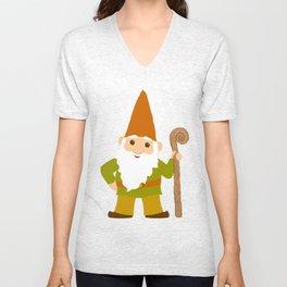 gnome sweet gnome Unisex V-Neck
