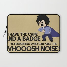 Cape and Badge Laptop Sleeve
