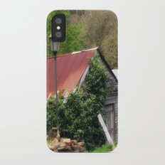 Old Barn iPhone X Slim Case